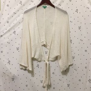 United Colors Of Benetton Knit Cardigan Wrap